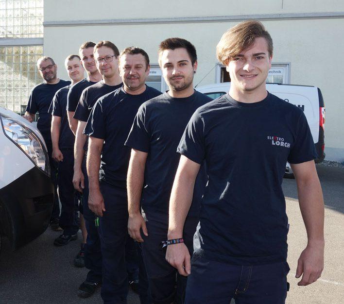 Elektro Lorch Team Mitarbeiter Friedrichshafen Ailingen